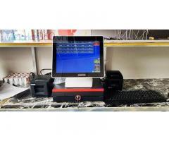 Máy tính tiền cảm ứng giá rẻ cho Quán ăn- Quán nhậu tại Bạc Liêu