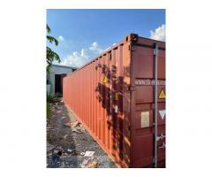 Container kho 40DC làm kho chứa hàng