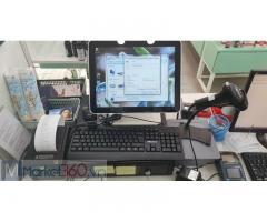 Máy tính tiền cho tiệm nail tại bình dương