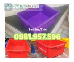 Hộp nhựa công nghiệp, hộp nhựa A3, sóng nhựa A3, sóng nhựa đặc