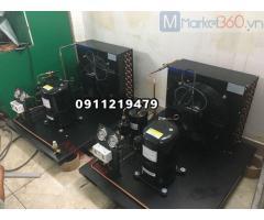 Lắp đặt hoàn thiện cụm máy nén kulthorn 2,1hp CAW 4524GB