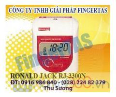 Chuyên cung cấp máy chấm công thẻ giấy RJ 3300A/N tặng kèm thẻ và kệ