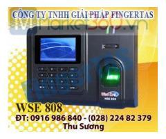 Phân phối máy chấm công vân tay WSE808 tặng kèm phần mềm wise eye mix 3