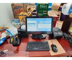 Lắp đặt máy tính tiền trọn bộ cho Siêu thị Mini- Căntin tại Cà Mau
