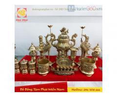 Chọn đồ đồng thờ cúng chất lượng tại Tâm Phát Miền Nam quận 5 TpHCM