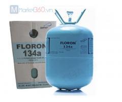 Gas lạnh Floron Ấn Độ R134A 13,6Kg và 22,7Kg