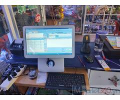 Lắp đặt trọn bộ máy tính tiền cho Nhà sách- Cửa hàng tại An Giang
