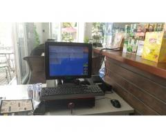 Trọn bộ máy tính tiền cảm ứng cho Quán cà phê tại Sóc Trăng