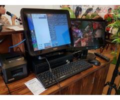 Trọn bộ máy tính tiền cảm ứng cho quán trà sữa tại Hải Phòng