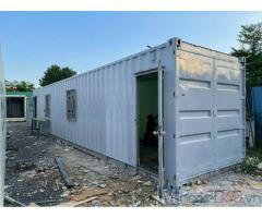 Container văn phòng 40 feet làm bằng vỏ container lạnh .