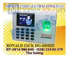 Phân phối máy chấm công vân tay DG600BID có pin lưu điện