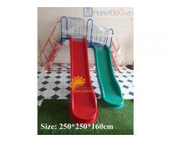 Cầu trượt hai máng trẻ em