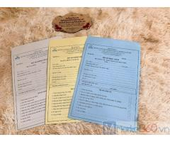 Địa chỉ in túi hồ sơ, in túi tuyển sinh, đặt in túi hồ sơ học sinh