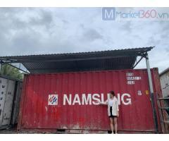 Container kho 20 DC chứa hàng , vật tư làm kho hàng