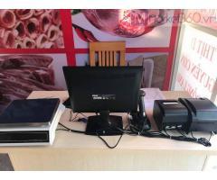 Trọn bộ máy tính tiền cho cửa hàng thực phẩm sạch tại lào cai