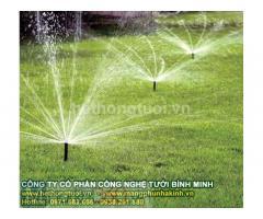 Hệ thống tưới,hệ thống tưới cây phun mưa, hệ thống béc phun tưới cây,hệ thống tưới nước sân vườn