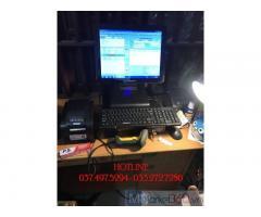 Máy tính tiền trọn bộ bằng mã vạch cho Cửa hàng Tạp hóa ở Thanh Hóa