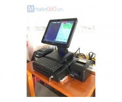 Máy tính tiền cảm ứng cho Cửa hàng hải sản Đông lạnh tại Long An