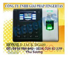 Lắp đặt và phân phối máy chấm công vân tay DG100 hàng chính hãng giá cạnh tranh