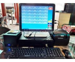 Bán máy tính tiền cảm ứng trọn bộ cho quán Coffee- Trà sữa tại Trà Vinh