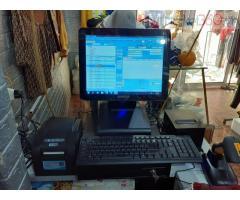 Bán máy tính tiền cảm ứng trọn bộ cho Shop quần áo tại Bình Thuận
