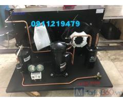 Lắp đặt cụm máy nén Copeland 6hp ZB45KQ