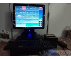 Chuyên lắp đặt bộ máy tính tiền cảm ứng cho Quán ăn vặt tại Bình Phước