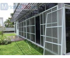 Cửa lưới chống muỗi dạng cố định bền đẹp và giá tốt
