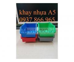 Bán khay nhựa vát đầu, kệ dụng cụ, hộp nhựa đựng linh kiện, khay nhựa đựng ốc vít