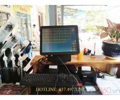 Chuyên tư vấn lắp đặt máy tính tiền cảm ứng cho Quán sữa tại An Giang