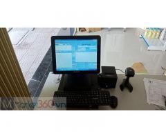 Bộ máy tính tiền cảm ứng bằng mã vạch cho Siêu thị mini tại Phú Yên