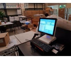 Trọn bộ máy tính tiền cảm ứng cho Cửa hàng Ga- Nệm tại Hải Dương