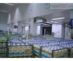 Báo giá kho lạnh bảo quản sữa tươi tại hóc môn