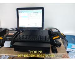 Trọn bộ máy tính tiền bằng mã vạch cho Cửa hàng tự chọn tại Đà Nẵng