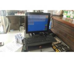 Trọn bộ máy tính tiền cảm ứng cho quán Coffee ở Vũng Tàu