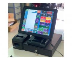 Máy tính tiền và phần mềm cho siêu thị tạp hóa tại bắc giang