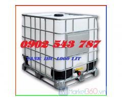 Tank IBC 1000 lít đựng hóa chất