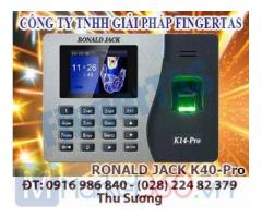 Máy chấm công vân tay K14pro lắp đặt tại đồng nai giá siêu rẻ