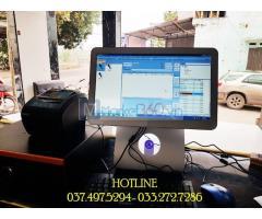 Chuyên lắp đặt tận nơi máy tính tiền cảm ứng cho quán KARAOKE tại Kiên Giang