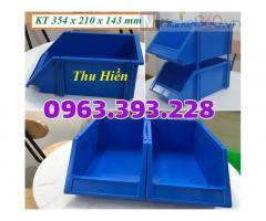 Khay nhựa đựng link kiện, Khay dụng cụ xếp chồng, Khay nhựa giá rẻ, khay link kiện A8