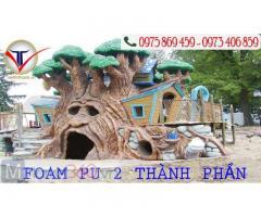 Pu foam 2 thành phần là gì & ứng dụng - Việt Tín Thành