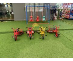 Xe đạp 3 bánh trẻ em cho trường mầm non, công viên, KVC, quán cà phê