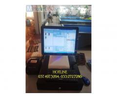 Chuyên máy tính tiền cảm ứng cho quán Bida- Cà phê tại Hà Tĩnh