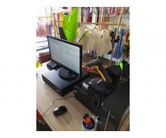 Máy tính tiền bằng mã vạch cho Shop quần áo- Túi xách tại Bình Thuận