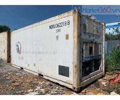 Container lạnh 20 feet hàng nhập khẩu