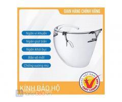 Kính bảo hộ cao cấp Face Shield, kính y tế không bám hơi nước hàng cao cấp Face Shield, hàng chính hãng Asia