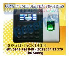 DG100 máy chấm công vân tay tăng kèm phần mềm wise mix 3