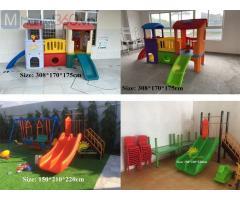 Bộ liên hoàn, cầu trượt liên hoàn, cầu trượt trẻ em, cầu trượt mầm non