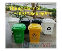 Địa chỉ bán thùng rác y tế, thùng rác công nghiệp ,thùng rác trường học,thung rác