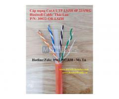 (30022-OR-LSZH) Cáp mạng LAN kháng cháy Cat.6 UTP LSZH 4Px23AWG, Hosiwell Cable